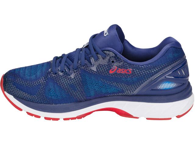 asics Gel-Nimbus 20 Shoes Men Blue Print/Race Blue